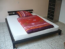 Futonbett Bett Einzelbett 160x200 mit Rosten und