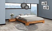 Futonbett Bett Schlafzimmerbet MAISON Eiche massiv