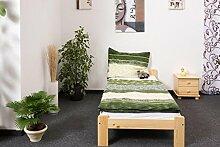 Futonbett Kiefer 90 x 200 cm Natur