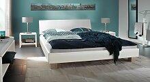 Futonbett Legano, 140x200 cm, weiß