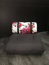 Futonsessel BuckleUp, Sessel aus Futon Maße ca. B 70/H 68/T 95 cm