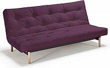 Futonsofa Vidar - Sofa mit Futon Schlafsofa für