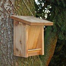 Futterhaus für Vögel aus Lärchenholz zum