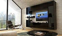 FUTURE 13 Wohnwand Anbauwand Möbel Set Wohnzimmer