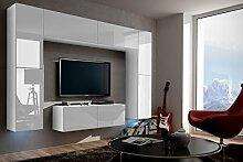 FUTURE 3 Zeitnah Wohnwand Wohnzimmer Möbelset,