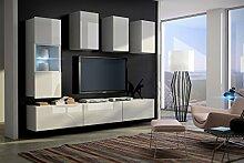 FUTURE 4 Zeitnah Wohnwand Wohnzimmer Möbelset,