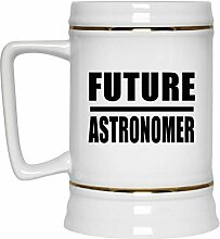 Future Astronomer - Beer Stein Bierkrug Keramik
