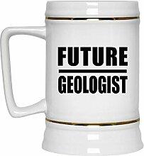 Future Geologist - Beer Stein Bierkrug Keramik