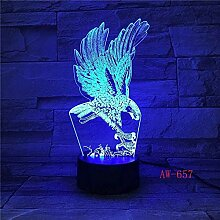 FUTYE 3D Illusionslampe LED Nachtlicht Bar