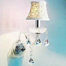 FuweiEncore Crystal Wandleuchte Spiegel Kristall