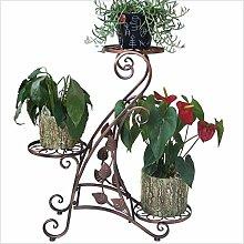 FuweiEncore Dreistöckige Blume schmiedeeiserne