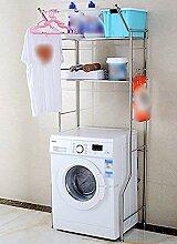 FuweiEncore Edelstahl Waschmaschine Regal Roller