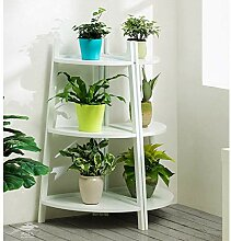 FuweiEncore Holz Blume Rack Indoor Plant Stand