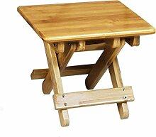 FuweiEncore Solide Faltbare Holzhocker für Kinder