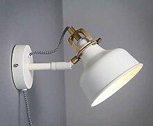 FuweiEncore Weiße Rocker Lampe Wand Retro Lounge