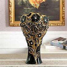 FUWUX Home Moderne Wohnzimmer Keramik Bodenvase,