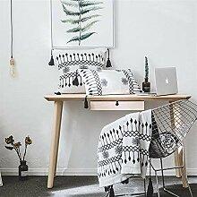 FUWUXIN Neue gestrickte Decke Wolldecke