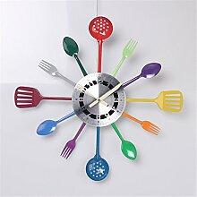 FUXINGXING Einfache Küchengeräte Und Kreative Moderne Wanduhr Wanduhr (48 Cm)