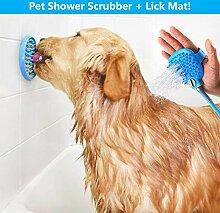 Fuxion Pet Tool Dusche & Lick Mat | Duschwanne und