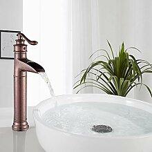FUZ Antiker Kupfer-Wasserhahn für