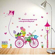 FUZILV Bonsai Bike Wandaufkleber Für Kinderzimmer