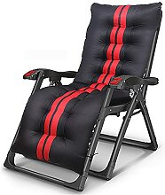 FVGBHN Sonnenliegen Textilene Camping-Liegestuhl
