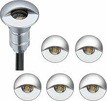 FVTLED LED Einbaustrahler aussen 0.6W Ø26mm IP65