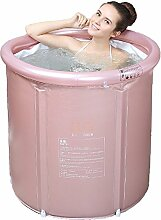FWec Aufblasbare Badewanne Erwachsener Mit Ablauf,