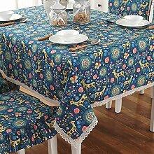 fwerq Kaffee Tischdecken im Landhausstil Tisch