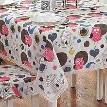 Runde Tischdecken Landhausstil : tischdecken landhausstil g nstig online kaufen lionshome ~ Watch28wear.com Haus und Dekorationen