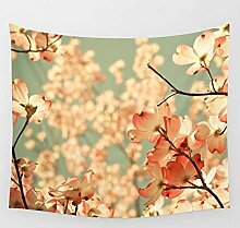 FWHA Tapisserie Wandteppichewand-Blumentopf