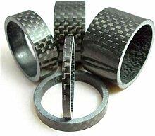 FXCO 5 Stück/Set aus Karbonfaser Unterlegscheibe