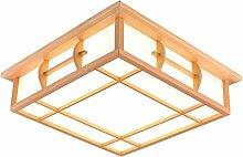FXING Deckenleuchten im japanischen Stil Lampe LED