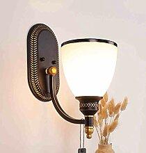 FXING Wandleuchte Wohnzimmer Lampe Studie