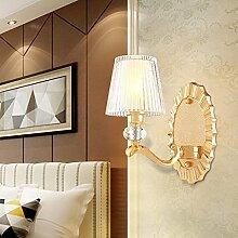 FXLYMR Wandleuchte Kronleuchter Luxus Mode