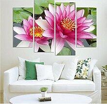 fydzyz Kunstfoto auf Leinwand 4 Panel Wandkunst