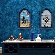 Fyios American Style Ländlichen Tapete Wohnzimmer Hintergrund Wand