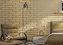 Fyios Chinesische Antike Ziegel Tapeten, Golden