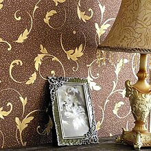 Fyios European Coffee Tapeten Edel Und Elegant Tv Hintergrund Wand