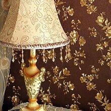 Fyios Tiefe Coffee Garden Golden Kleine Florale Wallpaper Wallpaper