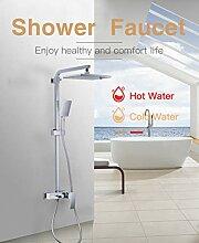 FYJIDY Duschset bad dusche wasserhahn set weiß