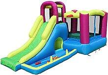 FYRMMD Aufblasbarer Kinder-Schloss-Spielplatz mit