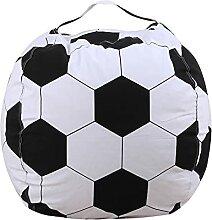 FYTTP Sitzsack Kinder Fussball Indoor Beanbag