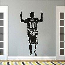 Fyyanm Vinyl Wall Sticker Giocatore di calcio