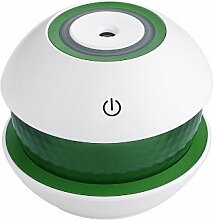 FYYDNZ Luftbefeuchter Bunte Nachtlicht Luftbefeuchter Innenluft reinigen kreative neue Stil, grün, 10,2 * 10,4 * 8,7 cm