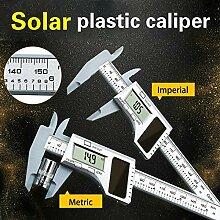 FYYONG 0-150mm Kunststoff 6 Zoll Pachymeter