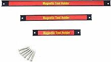 FYYONG 3 PCS 8 12 18 Magnetisch-Werkzeughalter-Bar
