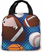 FZDB Ball Sports Neopren Lunch Bag Isolierte