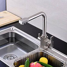 FZHLR Küchenarmatur Doppelwasserfilter