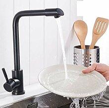 FZHLR Küchenarmatur Schwarz Bronze Küchenspüle